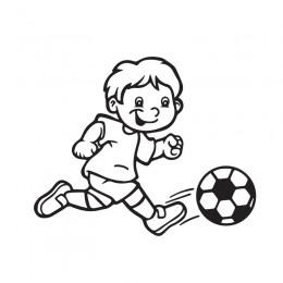 Samolepka dítě v autě se jménem – Fotbalista