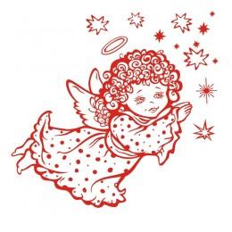 Samolepka vánoční dekorace Andělíček